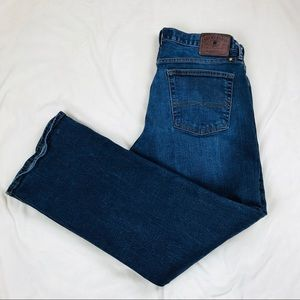 Lucky Brand 181 relaxed straight jean, size 34x30